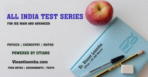 All India Test Series 2019 for JEE Main and Advanced